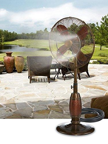 DecoBREEZE Outdoor Misting Kit for Outdoor...