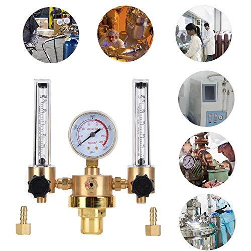 Argon Pressure Control Gauge TIG MIG Meter Regulator Pump Switch Manifold Welder