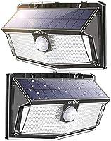 300 LED Luci Solari Esterno, Luce Solare con Sensore di Movimento, 270ºIlluminazione wireless Lampada Solare per...