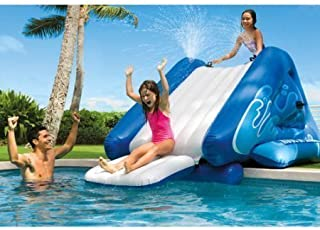 NEW Inflatable Water Slide Play Center with Sprayer, 131 x 81 x 46