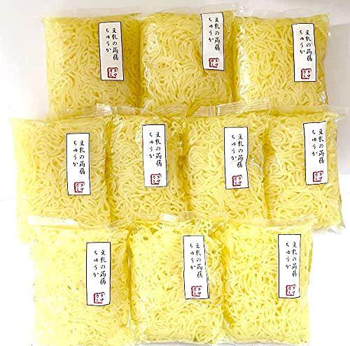 こんにゃく麺 中華麺 10袋 こんにゃく 蒟蒻麺 低糖麺 ダイエット クマガエ