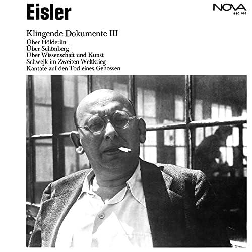 Hanns Eisler & Mitglieder Der Staatskapelle Berlin