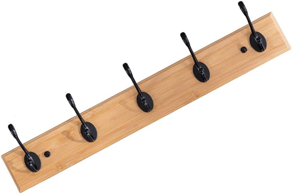 NYKK Coat Rack Wall Mount Heavy Hanging Hooks Hanger Max 86% OFF Courier shipping free D
