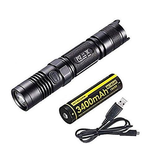Nitecore P12 - Linterna LED 1000 lm