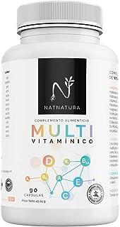 Complejo multivitamínico con Vitamina D 3 para hombre y mujer. a base