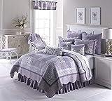 King Bedding Set - 3 Piece - Lavender Rose by Donna Sharp -...