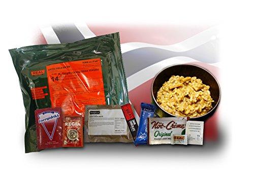 1 x orig. Norvégien Champ ration – Poulet Tikka Masala # de 14 348 G d'urgence de restauration