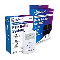 Tens machines for pain relief