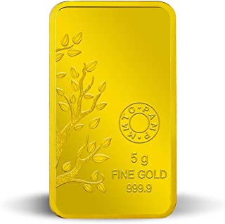 MMTC-PAMP Banyan Tree 24k (999.9) 5 gm Gold Bar