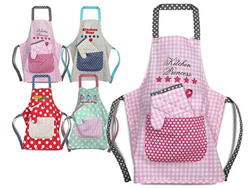 Emily´s Check Kochmütze - Küchenschürze & Topfhandschuh für Kinder 468.550, Küchenschürze & Topfhandschuh 3-6 Jahre, Kitchen Princess