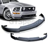 NEW - 05 06 07 08 09 Aftermarket Made FORD MUSTANG V8 CERVINI TYPE II Front PU Bumper Lip