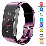 Fitness Tracker Activity Smart Bracelet Wristband with Pedometer Heart Rate Monitor Step Calorie