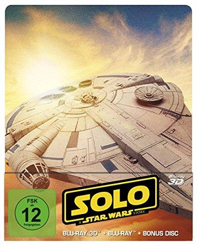 Solo - A Star Wars Story - Steelbook/Limited Edition (+ Blu-ray 2D / + Bonus-Blu-ray)