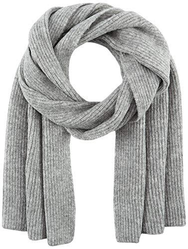 s.Oliver Damen 201.12.009.16.277.2051545 Winter-Schal, Grey Melange, 1