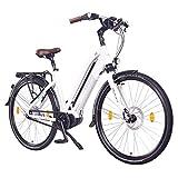 NCM Milano MAX N8R Bicicleta eléctrica, Bicicleta de Trekking, 250W Motor Central, Batería 36V 16Ah 576Wh, 28'