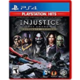 Injustice Gods Among Us Ultimate Edition PlayStation 4 - PS4 Supported - ESRB Rated T (Teen 13+) - Fighting Game - Multiplayer Supported - Play as your favorite DC Hero