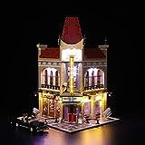 Nlne Kit De Iluminación Led para Lego Creator Palace Cinema, Compatible con Ladrillos De Construcción Lego Modelo 10232 (NO Incluido En El Modelo)