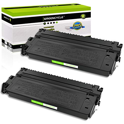 GREENCYCLE 2 Pack E40/E20/E10/E16/E31 1491A002AA Black Toner Cartridge Compatible for Canon E40 FC-330 FC-336 FC-500 PC981 Printer (2 Pack, E40)