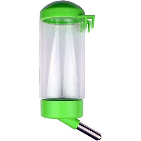 PoochBox Pet Water Dispenser Bottle 500 ML - Leak Proof, Rust Proof, BPA Free, with Stainless Steel Pipe - Keep Puppies, Cats, Bunnies and Other Small Animals hydrated (Colour May Vary)