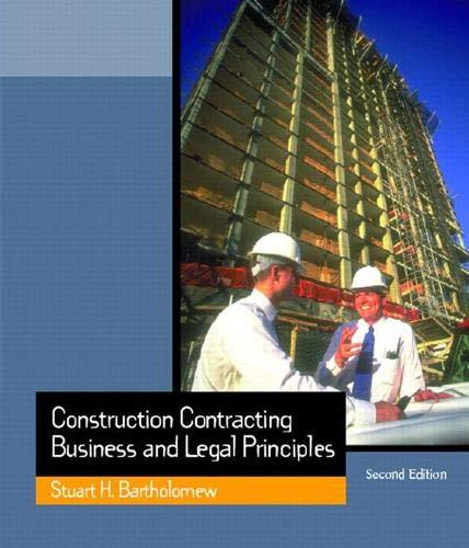 BARTHOLOMEW: CONSTRUCTN CONTRACTG_c2