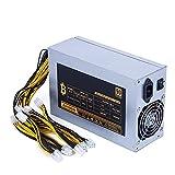 Yunyan Power Supply Bitcoin 1800W Fuente de alimentación de 12V para BTC ETH Antminer S7 S9 D3