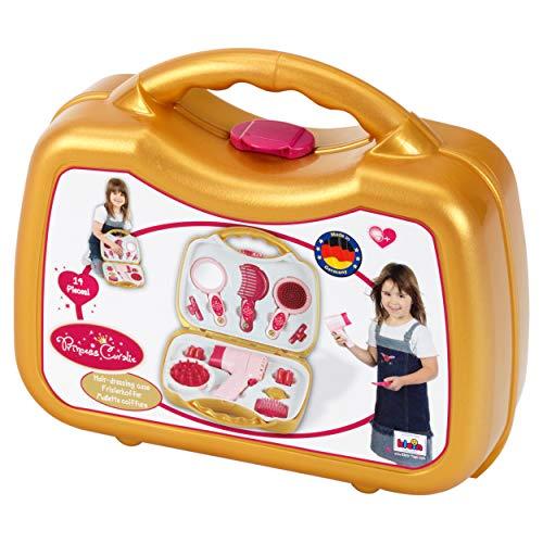 Theo Klein-5293 Princess coralie maletín con secador eléctrico, juguete,...
