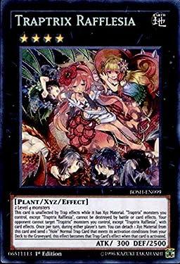 Yu-Gi-Oh! - Traptrix Rafflesia (BOSH-EN099) - Breakers of Shadow - 1st Edition - Secret Rare