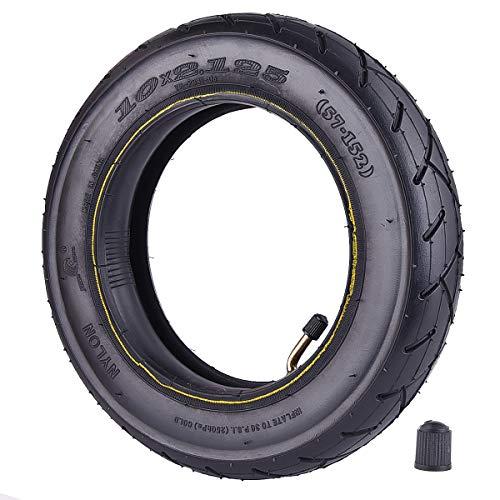RUTU 10 Zoll Reifen 10 x 2,125 Reifen & Schlauch Ersatz für Smart Soi Elektrisches Gleichgewicht Scooter 10 Zoll Einrad