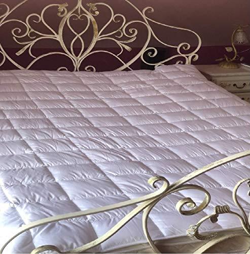 ÖKO TEX 160x200 cm topper matras onderbed matrasbeschermer boxspringbed waterbed verschillende maten