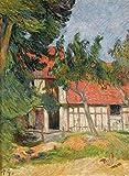 JH Lacrocon Paul Gauguin - Près Dieppe Jeux D'Écurie Tableau Reproduction sur Toile...