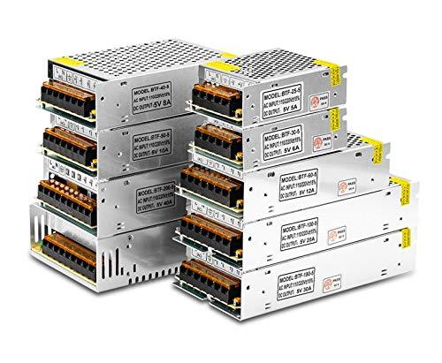li's Fuente de alimentación de conmutación Transformador de luz AC110V 220V a DC 5V 12V 15V 24V 36V 48V Adaptador Fuente de Fuente de alimentación for Tira LED CCTV