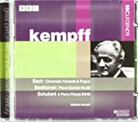 Bach, Beethoven, Schubert by Wilhelm Kempff