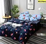 Ab Home Decor 350TC Microfiber Glace Cotton AC Comforter Set King Size Double