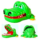 Newin Star gran juguete de dedos de mordedura de boca de gas de cocodrilo de niños para los niños