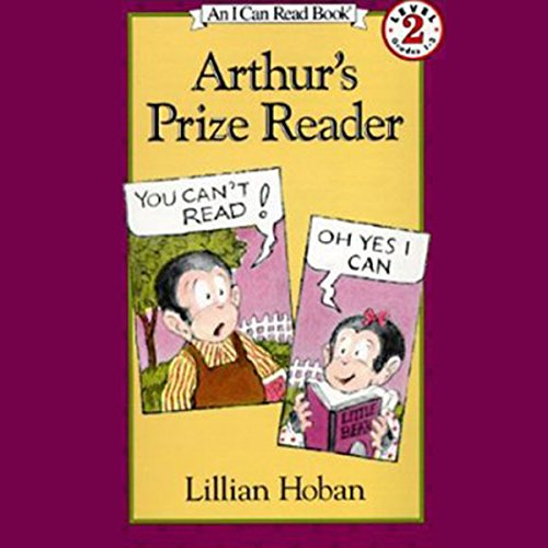 Arthur's Prize Reader audiobook cover art