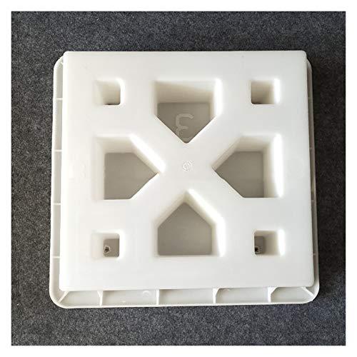 Cemento 3D antiguo ladrillo Moldes Square Garden Ventana fabricación de moldes de ladrillo talla Anti Slip concreto plástico pavimentación Moldes Molde Cemento