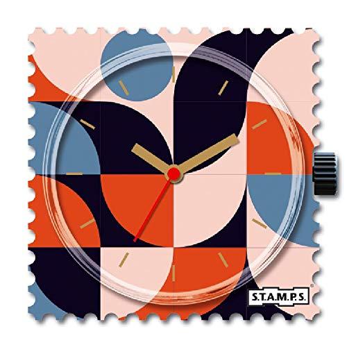 S.T.A.M.P.S. Reloj de esfera retro Waves 105922