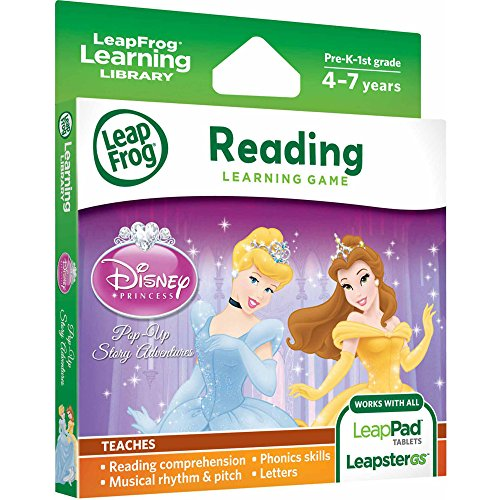 Jeu Toy Story 3 par LeapFrog Explorer - Disney Princess Aventures Pop Up (pour LeapPad et Leapster), 80 - 39041E, Violet - Version Anglaise
