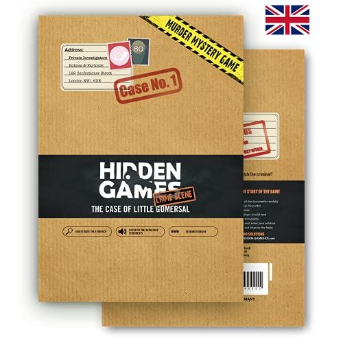 """Hidden Games - Scena del crimine """"The First Case"""", gioco di escape room (versione inglese)"""