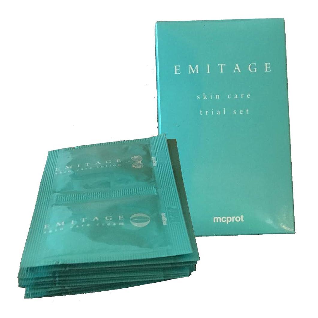 パネルアリーナ算術Emitage(エミテイジ) 肌への思いやり ローション&クリーム トライアルセット