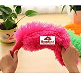 Homfine Pack of 2 Microfiber Static Feather Duster for Dusting, Home Cleaning Multipurpose