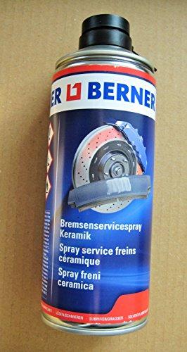 Berner Bremsenservicespray 400ml Keramikspray Schmierstoff für ABS, ASR und ESB Systeme