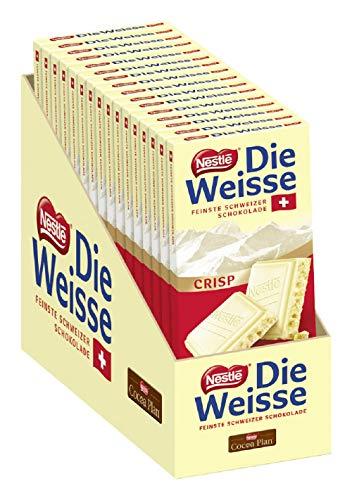 Nestlé DIE WEISSE CRISP, 16er Pack (16 x 100g)