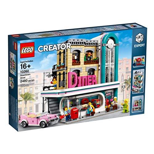 レゴ (LEGO) クリエイター エキスパート ダウンタウン ダイナー Down Town Diner 10260 [並行輸入品]