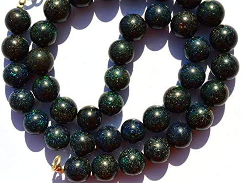 GEMS-WORLD Beads Gemstone 1 Strand Bla Matrix Don't miss the campaign Natural Australian New arrival