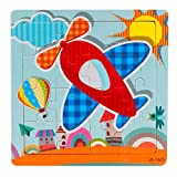 Routefuture Jouet éducatif pour Enfants Pas Cher, 16 pièces Puzzles avec Cadre...