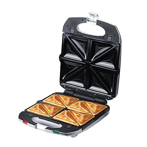 ZZ SM431-S 4 in 1 Removable Sandwich Maker with Non-Stick Plate 1200W