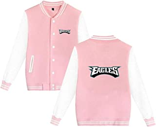 Philadelphia Eagles Varsity Jacket Baseball Jacket Women's Bomber Coat Men's