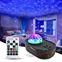 3 in 1 Star Galaxy Projector, Night Light Projector Bluetooth music starry projector