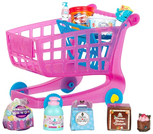 Shopkins Small Mart Shopping Cart, Pink (ID57366)